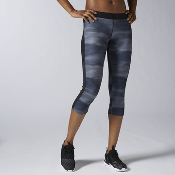 AY2120 - Legíny Workout Ready All Over Printed Capri